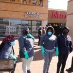 Looting in the city of Tshwane